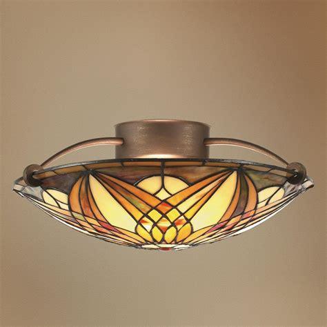 stained glass ceiling fan light kit 41 best stained glass ceiling fan images on