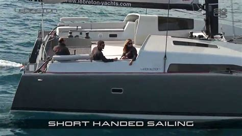 catamaran song le breton yachts sig45 fast 45ft cruising sailing