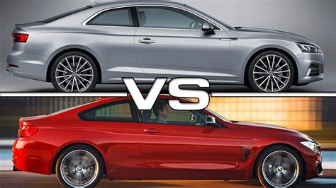 Audi Baureihen by 2017 Audi A5 Coupe Vs Bmw 4 Series Coupe
