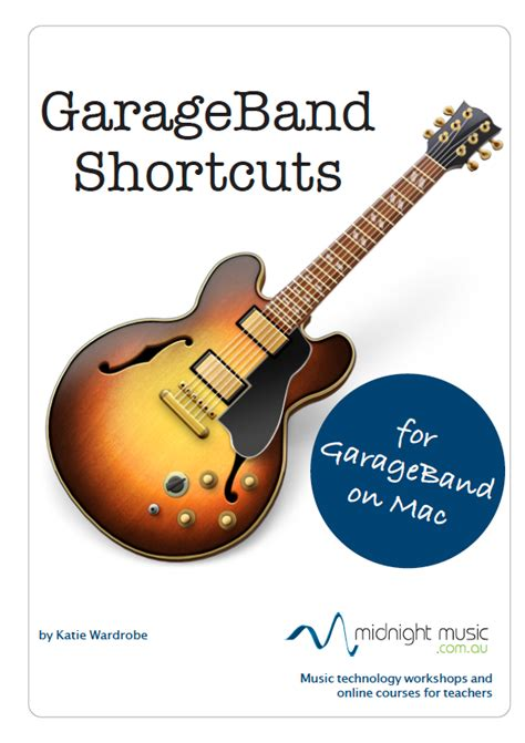 Garageband Hotkeys Garageband Shortcuts Free Midnight