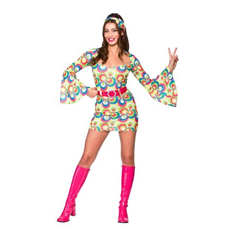pictures of outfits for women in their60s ladies womens hippie hippy fancy dress costume 60s 70s