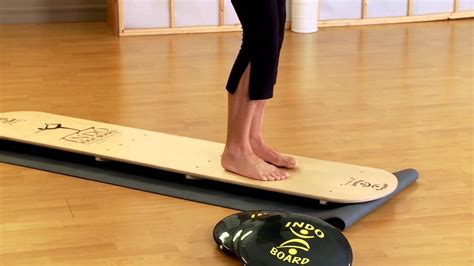 Yogi Board make your practice more challenging and exciting on the indo board