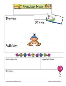 preschool newsletter templates 9 kindergarten newsletter templates free sles