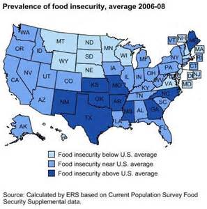 united states map hunger hunger in america 2011 united states hunger and poverty
