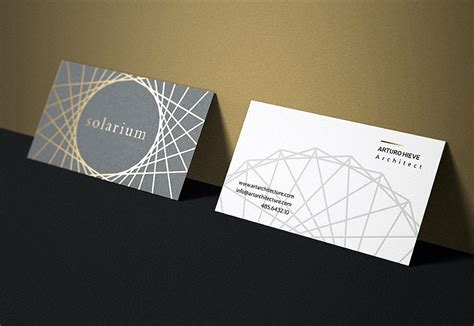 creative business card templates  architects