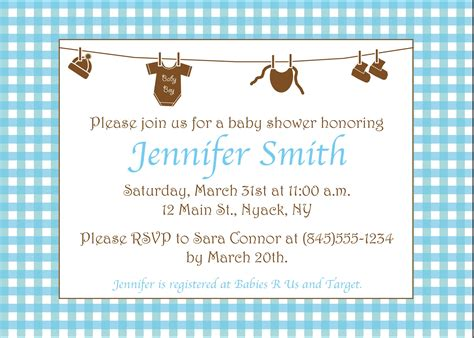 Other Words For Baby Shower by Baby Shower Invitations For Boys Wording Choice Image