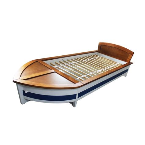 sailboat bed starboard twin size boat bed boats products and beds