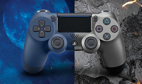new ps4 controller colors playstation 4 reveal sony announce two new ps4