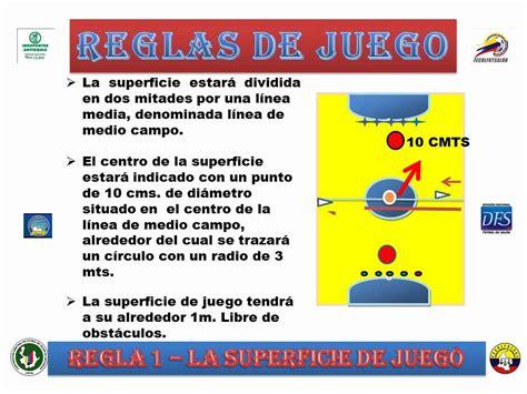 reglas de futbol sala regla uno futsal 2012 wmv