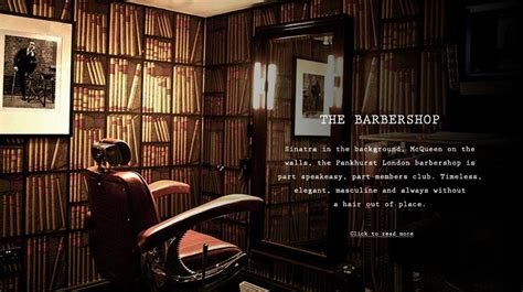 Savile Row Interiors by Pankhurst Barbershop 37 Savile Row W1s