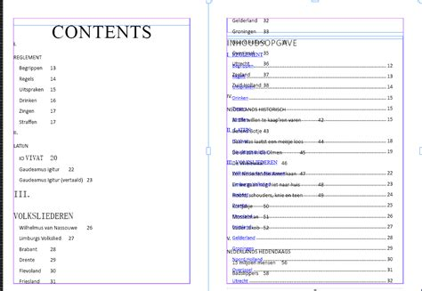 indesign table of contents template indesign table of contents 28 images create a table of