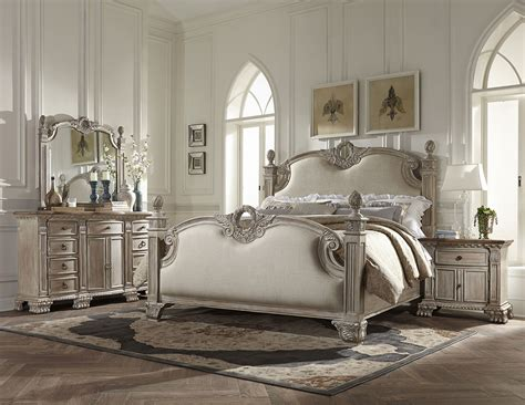 white washed bedroom furniture homelegance orleans ii bedroom set white wash b2168ww