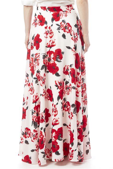 jenn floral maxi skirt from new york city by dor l dor