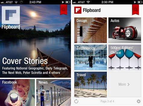 restaurant magazine layout flipboard launches a new iphone app wired