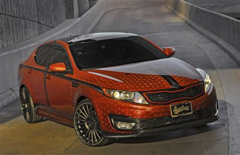 Griffin Dunk Kia by Slam Dunk Black Griffin Kia Optima Debut At 2011 Sema
