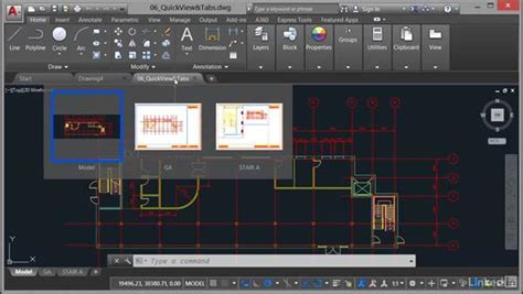 quick view layout autocad quick view layouts