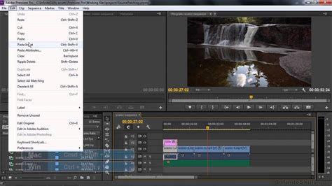 tutorial adobe premiere cc pdf adobe premiere pro cc tutorial source patching and track