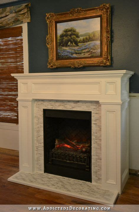 Electric Fireplace Makeover by 17 Best Images About Home Tutorial On Diy Air Fresheners Electric Fireplaces And