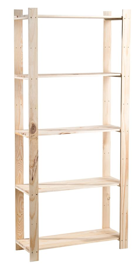 pine shelving units unfinished shelving unit l 1690mm d 295mm