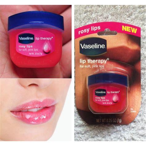 Vaseline Lip Therapy Original 7gr Vaseline Perawatan Bibir 100 original vaseline lip therapy travel size 7gr rosy cocoa butter creme brulee
