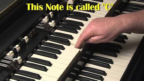 tutorial organ keyboard hammond organ keyboards for beginners lesson 1 b3 and