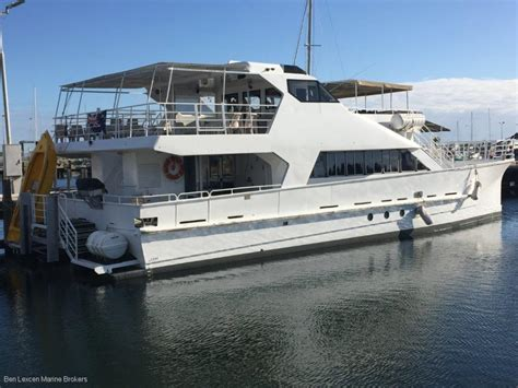 catamaran boat for sale used denis walsh catamaran ferry charter business for sale