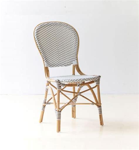 sedia in vimini sedia in vimini con cuscino per caffetterie e birrerie
