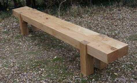 long garden bench 25 great ideas about oak bench on pinterest