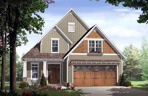 bungalow cottage country craftsman house plan 59154