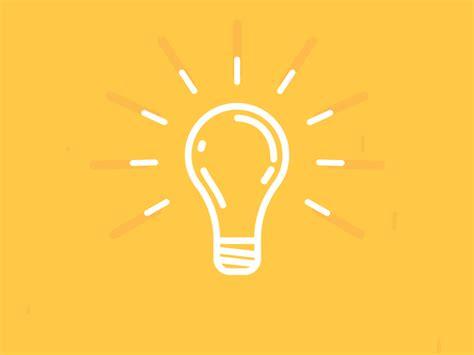 light bulb checker lightbulb icon animation by miguel duarte dribbble