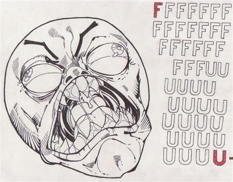 Fffuuu Meme - rage face fffuuu by daniyelmoon on deviantart