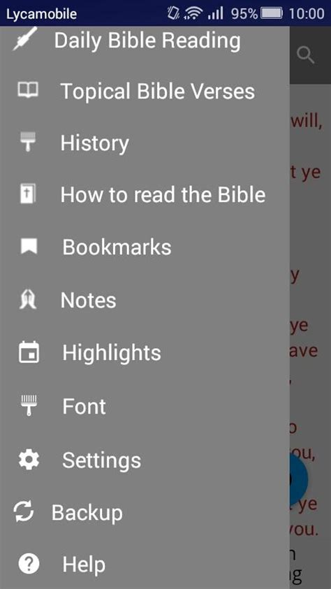 free kjv bible apps for android king bible app offline android apps on play