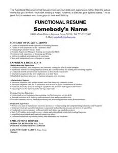 An Exle Of A Resume For A by No Experience Resume Sales No Experience Lewesmr