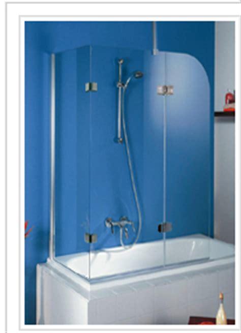 End Of Bath Shower Screen by Frameless Shower Screens Frameless Shower Enclosures