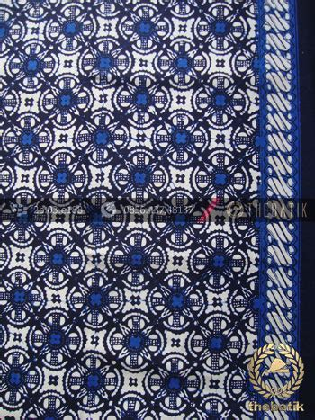 Kain Batik Cap Medan Biru jual kain batik cap jogja motif cakar biru thebatik co id