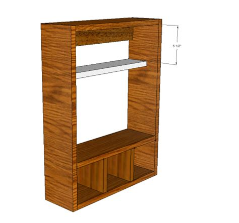 Cabinet Drawer Plans by Free Diy Furniture Plans To Build A 3 Drawer Medicine