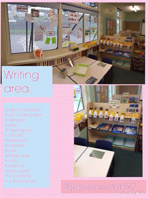 classroom layout early years writing area eyfs classroom layout areas pinterest