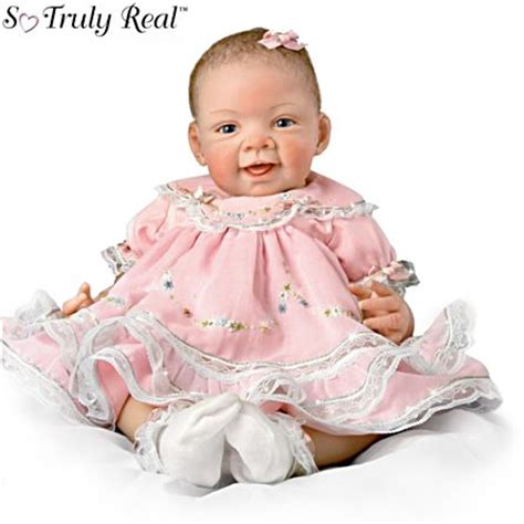 Bety Baju Tidur Baby Doll Pink Lace Dress G String lifelike reborn so truly real 174 vinyl 25th anniversary baby doll pretty in pink 25th