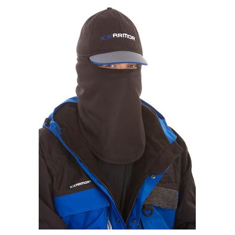 sportsman boats hat clam ice armor wind cutter hat 579907 ice fishing