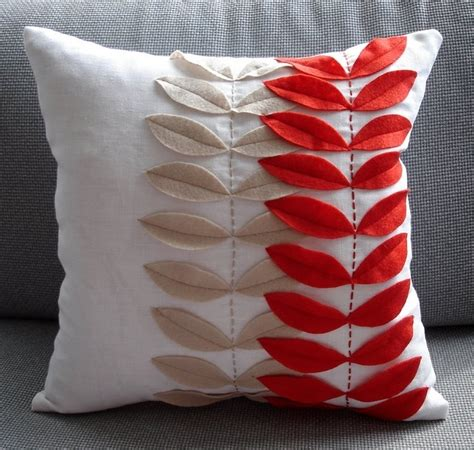 craft ideas for home and gifts pillows with application