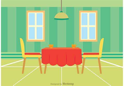 cafe interior design vector interior of restaurant vector download free vector art