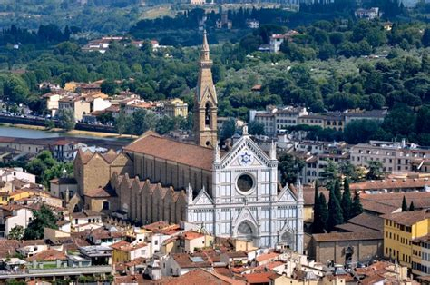 santa croce firenze interno santa croce church in florence italy and museum complex
