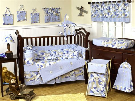 Camouflage Baby Crib Bedding Set by Unique Designer Camo Camouflage Baby Boy Discount