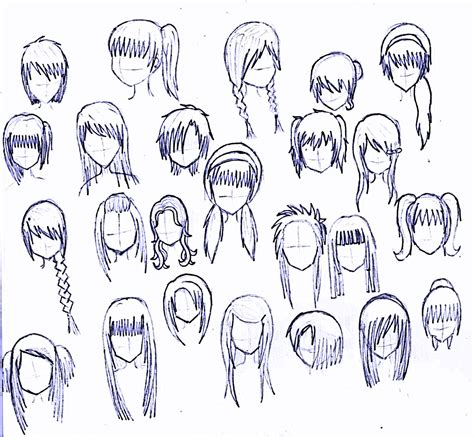 cool hairstyles drawing 24 girls hairstyles by matsudakeiko on deviantart
