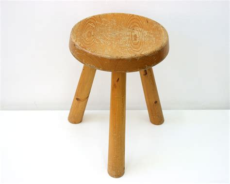Tabouret Perriand by Tabouret Perriand Design Xxe Lausanne Suisse