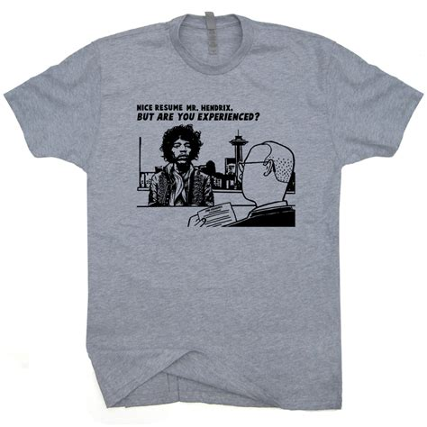 Resume T Shirt by Jimi T Shirt Vintage Rock T Shirts Janis