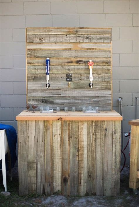 rustic diy wedding  coke whiskey  tap diy
