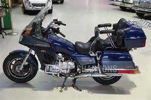 sold honda gl1200 goldwing aspencade motorcycle auctions