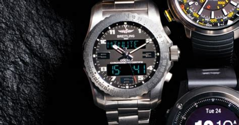 Rugged Outdoor Watches Breitling Cockpit B50 The Most Rugged Outdoor Watches S Journal