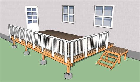Building A Deck Handrail how to build deck railings howtospecialist how to build step by step diy plans